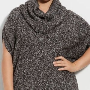 Michael Kors - tweed cowl neck sweater